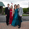 (L to R) Jacob Outlet, Samantha Wilcox, Ella Patterson and Carter McLaughlin pose for a photo on their way to the 2019 Senior Prom and Grand March held on Friday, May 31st at the Atkinson Country Club, Atkinson NH.  Matt Parker Photos