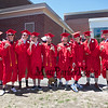 Wells High School Class of 2019 Graduation Ceremony on June 9, 2019, 1:00 PM, Warrior Field, Wells, ME.  Matt Parker Photos
