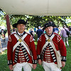 Bryon Bausk and Andy Shein of the Kings own 4th Regiment of Foot, at the Annual 2019 American Independence Festival on Saturday 7-13-2019 @ Exeter, NH.  [Matt Parker/Seacoastonline]