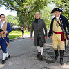 General George Washington and General John Stark in Swasey Park at the annual 2019 American Independence Festival on Saturday 7-13-2019 @ Exeter, NH.  [Matt Parker/Seacoastonline]