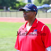 """Former Patriots cornerback 1996-1997 Mike """"Scooter"""" McGruder volunteered at The New England Patriots NFL Alumni  """"Football For You"""" youth football clinic for kids ages 9-14  in conjunction with the Winnacunnet Warriors Football program on Saturday 7-20-2019 @ WHS.  Matt Parker Photos"""