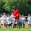 """The New England Patriots NFL Alumni presents """"Football For You"""" a youth football clinic for kids ages 9-14  in conjunction with the Winnacunnet Warriors Football program on Saturday 7-20-2019 @ WHS.  Matt Parker Photos"""