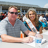Judges (L to R) John Fitzgerald and Miss Moxie Erica Davis from Maine at the 12th Annual Little and Junior Miss Hampton Beach Pageant on Saturday 7-27-2019 @ the Hampton Beach Seashell Stage.  Matt Parker Photos