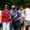 National Anthem, New Boston 4th of July parade and celebration on Thursday 7-4-2019 @ New Boston, NH.  Matt Parker Photos