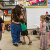 Smokey The Bear with the help from his friends celebrate Smokey's 75th birthday with a party and presentation at the Hampton Falls Fire Department on Tuesday 7-9-2019 @ Hampton Falls, NH.  [Matt Parker/Seacoastonline]