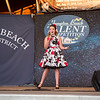 """15 year old Valentina McCarthy of Bridgewater MA takes 1st place in the junior division singing, """"Gimme Gimme"""" at the 2019 15th Annual Hampton Beach Talent Competition Finals on Sunday 8-25-2019 at the Seashell Stage, Hampton Beach, NH.  Matt Parker Photos"""