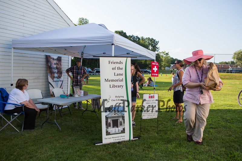 Lane Library Summer Reading Finale Party and Ice Cream Social on Thursday 8-8-2019 @ Tuck Field, Hampton NH.  Matt Parker Photos