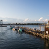 Fishing boats at the dock in Portsmouth Harbor on Friday 8-9-2019, Portsmouth NH.  Matt Parker Photos