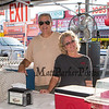 Mark and Bebbie Blain of Simply Cannoli have had a food booth for the past 3 years at the 30th Annual Hampton Beach Seafood Festival, setting up the food booths on Thursday 9-5-2019 @ Hampton Beach, NH.  Matt Parker Photos