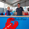 Ray's Seafood employees Lindsey Correia (L) with John Tierney getting thier booth ready at the 30th Annual Hampton Beach Seafood Festival, setting up the food booths on Thursday 9-5-2019 @ Hampton Beach, NH.  Matt Parker Photos
