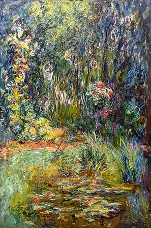 """Denver Art Museum – Monet """"The Water-Lily Pond"""""""