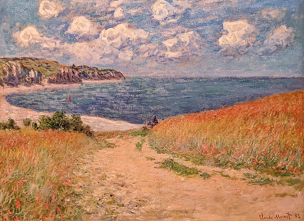 """Denver Art Museum – Monet """"Path in the Wheat Fields at Pourville"""""""