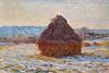"""Denver Art Museum – Monet """"Grainstak in the Sunlight, Snow Effect"""""""