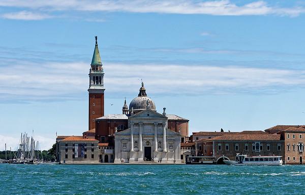 Venice; headed to San Giorgio Maggiore