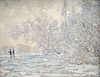 """Denver Art Museum – Monet """"Frost at Giverny"""""""