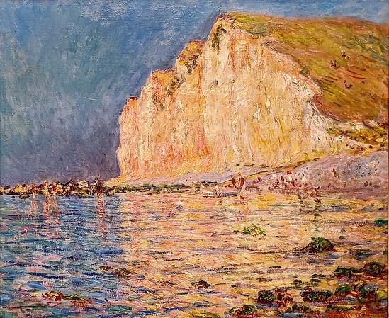 """Denver Art Museum – Monet """"Low Tide at Les Pitites-Dalles"""""""