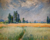 """Denver Art Museum – Monet """"Wheatfield"""""""