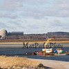 Seabrook Nuclear Power Plant and equipment in Hampton Harbor as part of the ongoing dredging operations on Wednesday 1-1-2020 @ Hampton Beach.  Matt Parker Photos