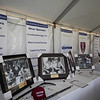 Raffle table with sponsored gear and memorabilia, NH Legends of Hockey Annual Golf Classic held at Stonebridge Country Club on Friday July 16, 2021, Goffstown, NH.  Matt Parker Photos