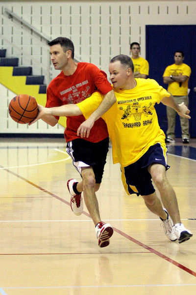 Backyard Brawl basketball game