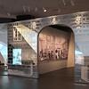 Dior exhibit entrance
