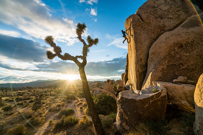 1616 was a trip done for Mountain Hardware, the purpose of the shoot was to get a few catalogue and add images of Ethan Pringle bouldering in Joshua Tree. <br /> <br /> ATHLETES: ETHAN PRINGLE, RYAN ROBINSON