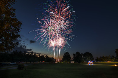 Panther Creek Park Fireworks