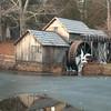 Mabry Mill December Scene