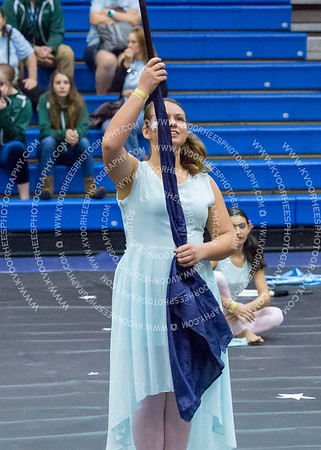 Inverness Middle School Winterguard