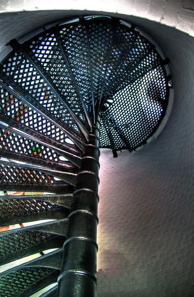 center spiral staircase