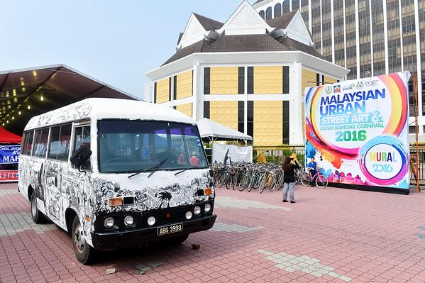 MURAL AZAM BANDAR & SENI JALANAN URBAN MALAYSIA   IPOH 2016