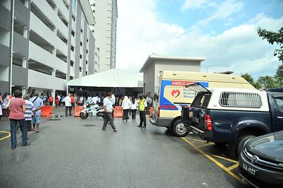 Majlis penyerahan kunci rumah PPR Sri Aman dan pelancaran rumah transit belia