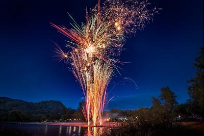 Okanagan Falls Canada Day Fireworks 2019