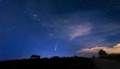 Comet Neowise Penticton Munson