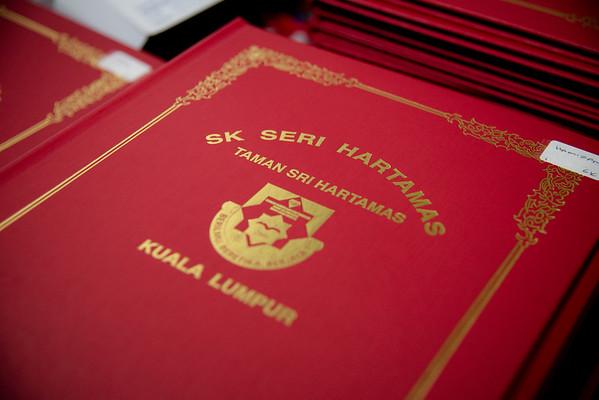 SK SERI HARTAMAS KUALA LUMPUR   GRADUATION DAY