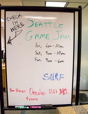 Hackathon at SURF - Seattle Game Jam