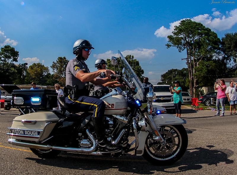 Baton Rouge Police  Motorcycle