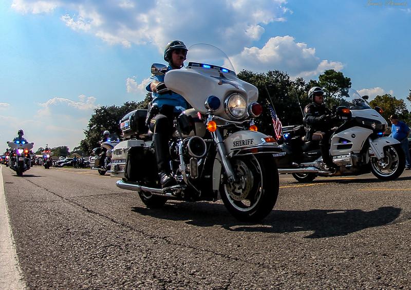Lafourche Parish  Motorcycle Sheriff