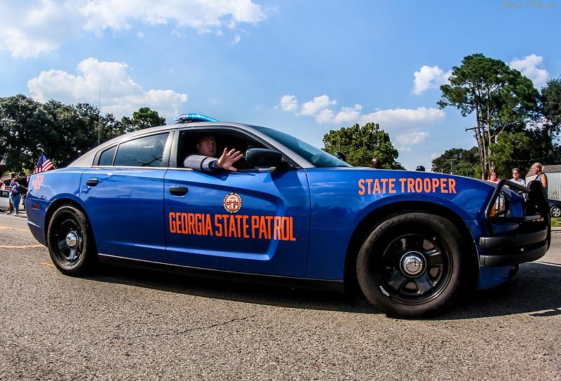 Georgia State Patrol Trooper