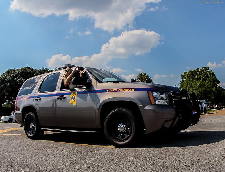Mississippi State Police Trooper