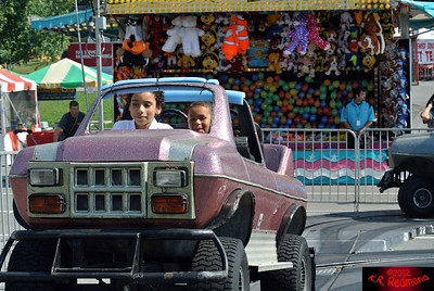 Brazil and Elijah Ride a 'Monster Truck'