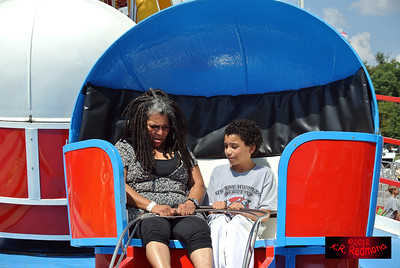Val and Brazil on the Tilt-a-Whirl