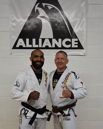Training w/ Rafael Rosendo Dos Santos