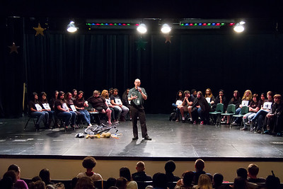 Think First Assembly at CloverPark High School