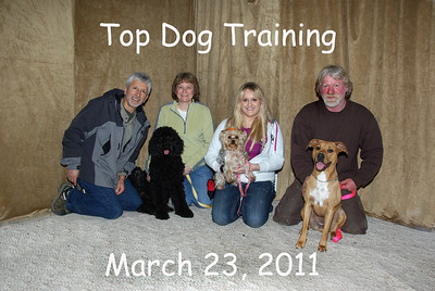 Top Dog Training March 23, 2011 pm