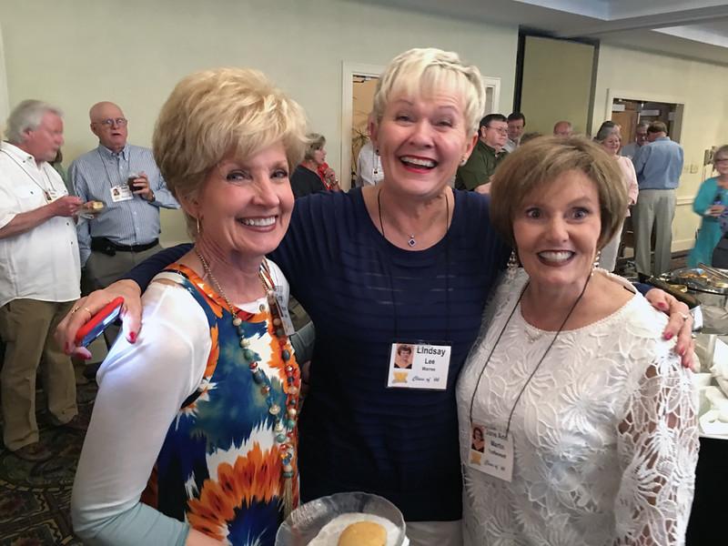 Ginger Van Hooser, Lindsay Lee and Jane Ann Martin