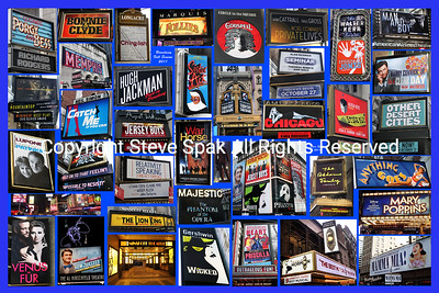 2011 Broadway Photo Collage