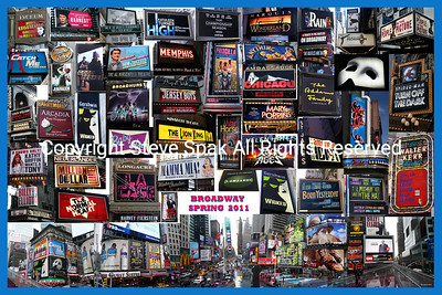 Broadway Spring 2011 Photo collage