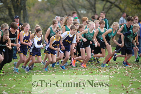 EVWK Cross Country 2016