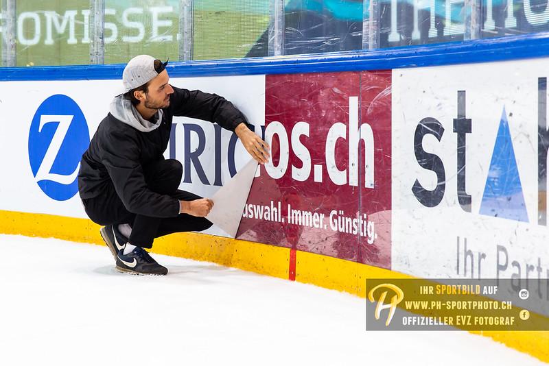 Swiss Ice Hockey Cup 1/8-Final  - 18/19: EVZ Academy - Geneve-Servette HC - 21-10-2018